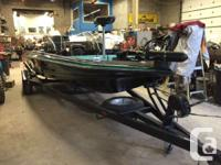GO FISHING THIS SPRING!1994 Hydro Sport 20.5 Bass Boat