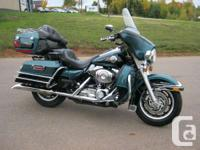 Very clean touring bike with low mileage! Own it today