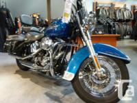 Here we have a beautiful Softail Heritage Classic in