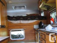 Excellent Condition - 10 foot Custom camper - 70s -