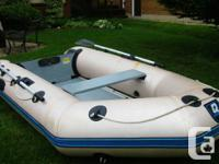 10 foot Quicksilver inflatable boat for sale  Comes