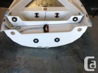 Fibreglass professionally built 2 piece nesting dinghy.