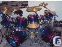 This drum set was handcrafted took 1 year to get after