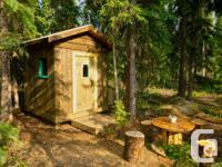 Tiny House for rent at Marsh Lake, Yukon. Cabin