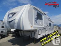 Comfort and Quality with a Latitude fifth Wheel! Packed
