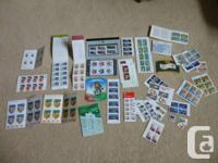 LOT 1   $113 ($100+tax) worth of Canadian stamps