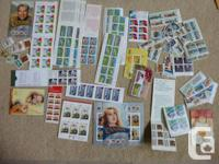 LOT 2   $113 ($100+tax) worth of Canadian stamps