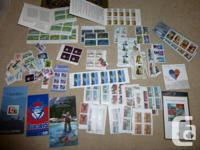 LOT 3   $113 ($100+tax) worth of Canadian stamps