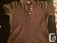 ONE HUNDRED % Authentic Burberry female's polo