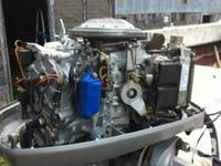 have a 100hp evinrude boat motor with power trim and
