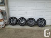 I bought a car for the rims but, they dont fit my