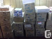 Available: 1,000,000 plus sportscards, from the 1950's