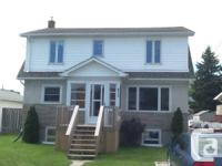 2 bedroom upper device offered now or October 1st.