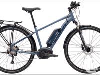 The 2018 Kona Splice-E is an electric bike with power