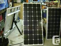 br) 150W mono panel $625. 2 6v deep pattern electric