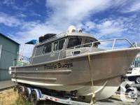 2004 27� Welded Aluminum Sportfisher8.1L 375HP Volvo