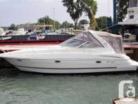 """This gorgeous Cruisers 3470 is no """"plain Jane"""". She"""