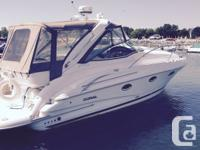 Very clean 33' Doral Intrigue, twin 5.7 Gi Volvo ,Newer