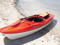 10ft Delta kayak , 2yrs old , very stable great for