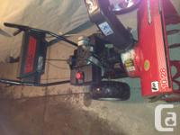 "10HP 28"" snowblower for sale $100 or best offer - you"