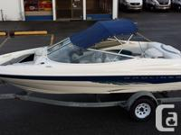 1998 Bayliner Capri 1850LS with only 170hrs!!!. This
