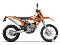 Brand New! Best in Class The 350 EXC-F is the ultimate