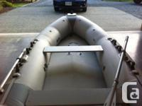 Boat details 11.5 ft inflatable hull zodiac with