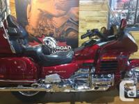 Clean Goldwing with low KM! Must be seen to be