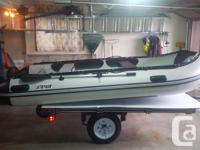 """Stryker Ranger LX 360 (11' 8"""") Inflatable Boat with"""