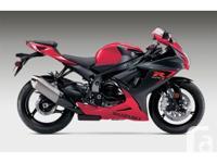 New GSXR600 - taking deposits now !The Suzuki GSX-R600