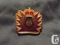 A Canadian Forces Queens Crown Era Explosive Technician