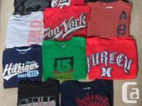 Guy's Custom t-shirts - Zoo York, O'Neil, Hurley, Fox,