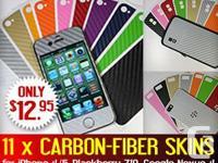 Carbon Fiber SALE ! iPhone 4 4S 4G, iPhone 5, Nexus 4 &