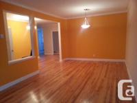 Large, tidy, bright, non-smoking 5 1/2 home for rent,