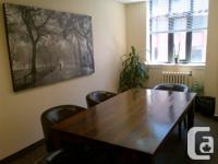 Available promptly: Midtown workplace in the heart of