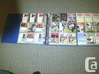 2 binders(1180 cards) full of Football rookies. There's