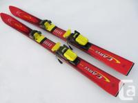 "110cm TecnoPro ""Carve 18"" junior alpine skis for sale."