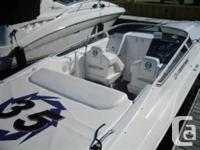 Like new condition, low hours very clean boat with all