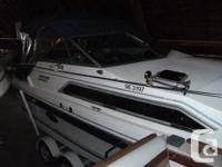 1988 Thundercraft 240 comes with a 5.0L merc and drive,