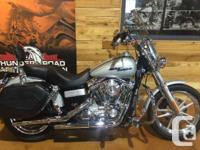 Descended from the original factory customs, the Dyna