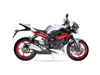 Upgraded version with quickshifterThe Street Triple Rx