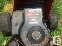 Hi I have a 12/38 toro ride on for sale. Has a Briggs &