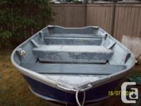 1992-12' HarberCraft aluminum boat, registered