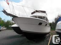 One of Carver's sweet little Aft Cruisers. She is a