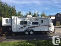 2008, 235rks model, king sized bed slide, bunk beds