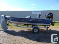 Near new condition, low hour unit ready for fishing.