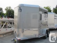 2 Horse Aluminum Straight Load Trailer for Sale in
