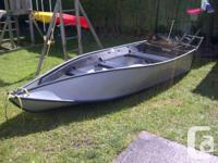FOR SALE 12 FOOT 6 INCH, FOLDING PORTA BOTE IN LIKE NEW