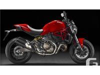 2016 Ducati 821 Monster Essentially Monster 112