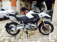 2008 BMW R1200GS in immaculate condition. Only 1094 for sale  Ontario